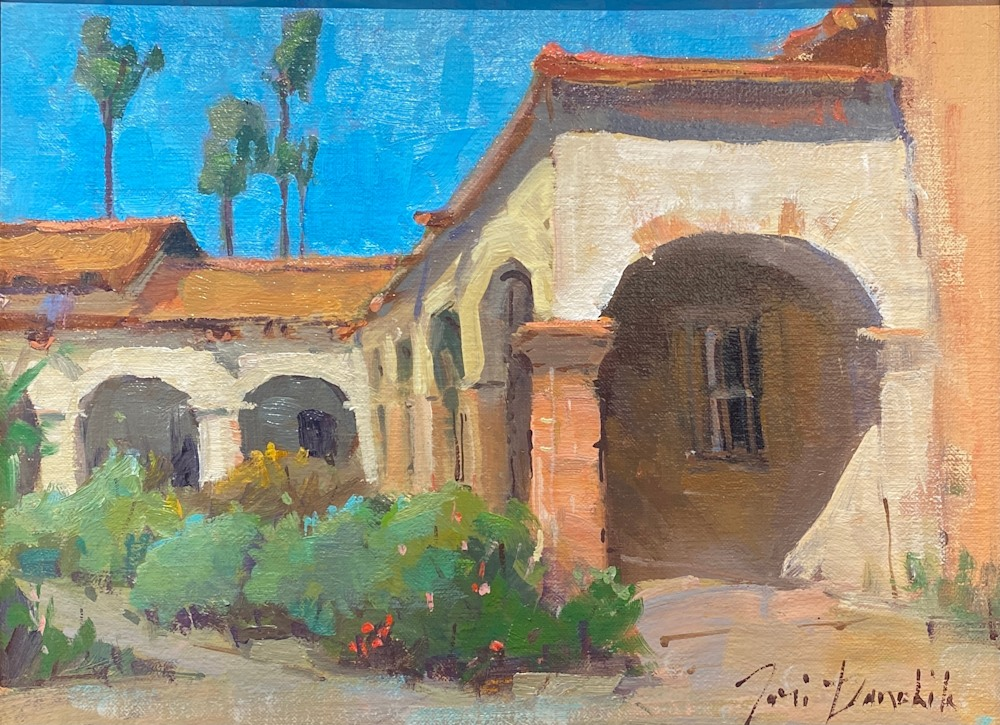 Mission Arches 9 x 12