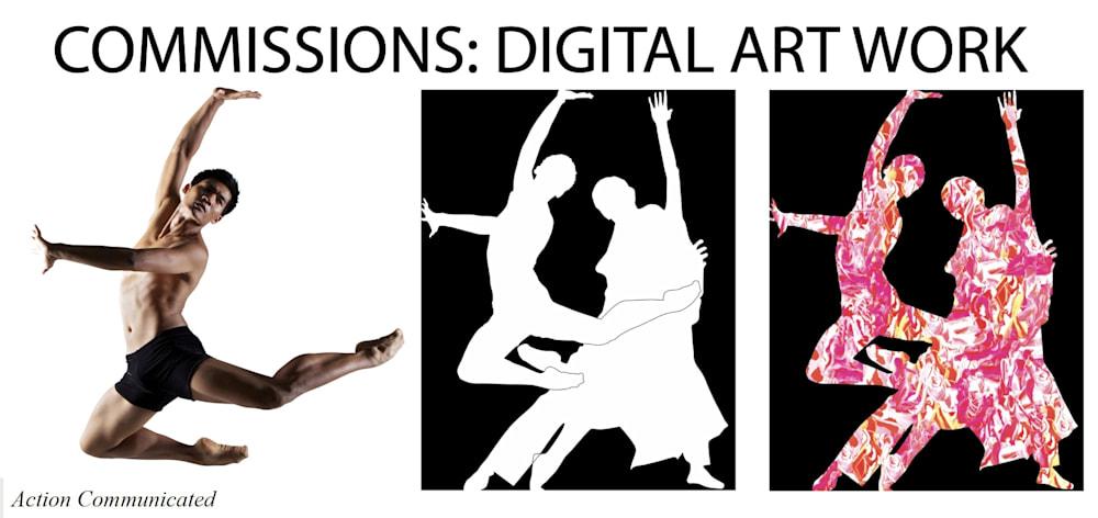 Commissions Digital Art Work