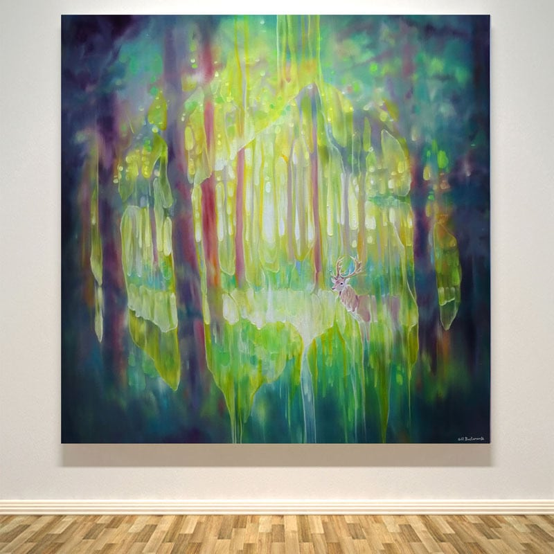 Hart of the Green Wood wall S