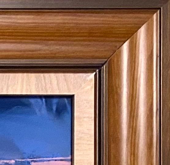 Brown frame corner