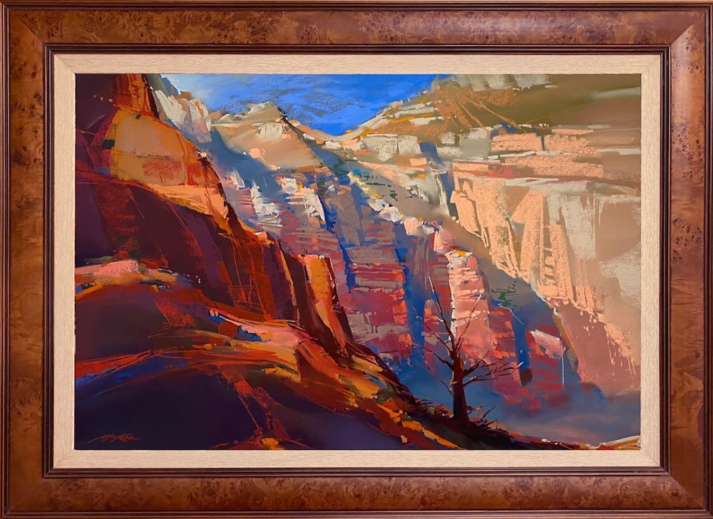 Canyon Light framed
