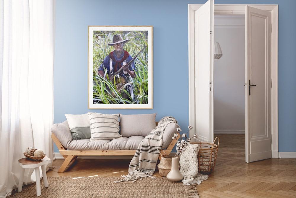 Peaceful living room Wall (1)