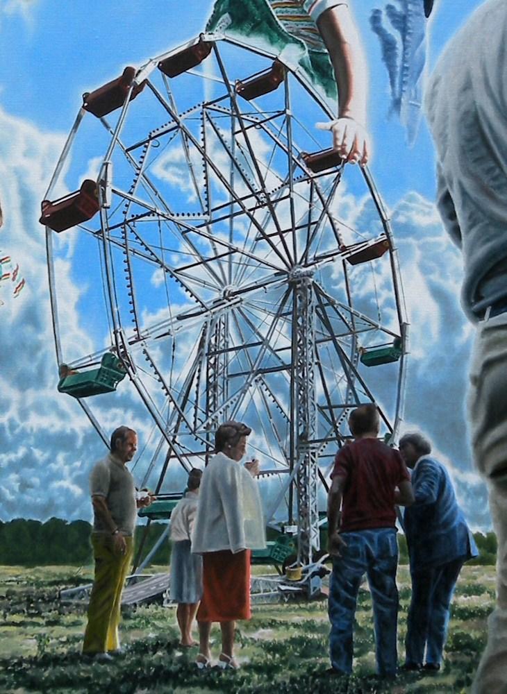 Ferris Wheel and Wheel
