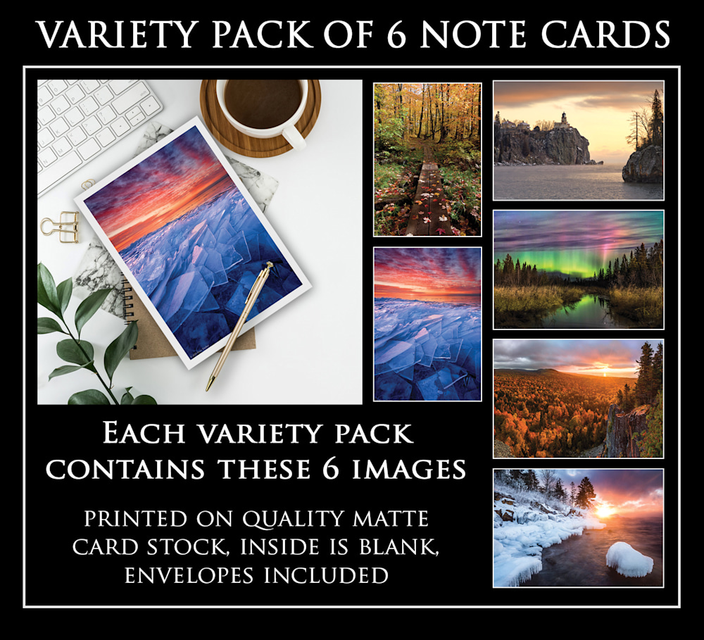 Greeting Card Pack 1   6 Cards