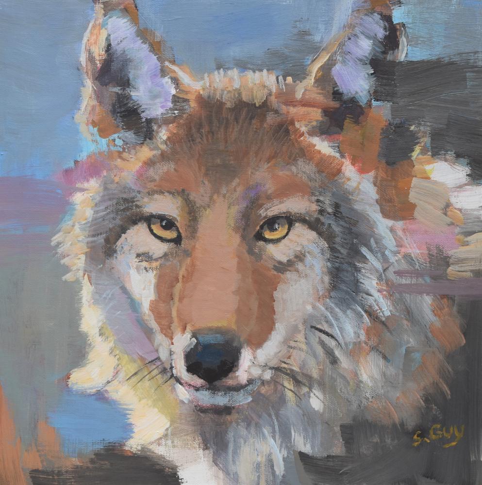 10x10 sharon guy wildlife paintings