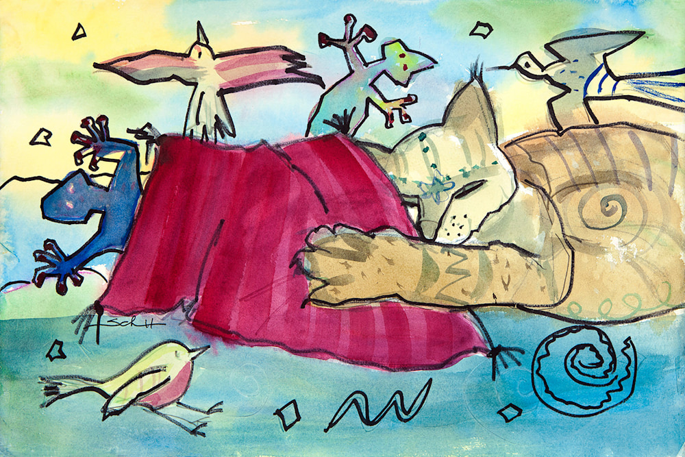 Do Cats Dream in Color