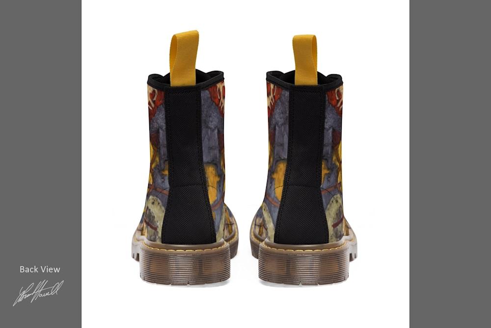 Boots backf