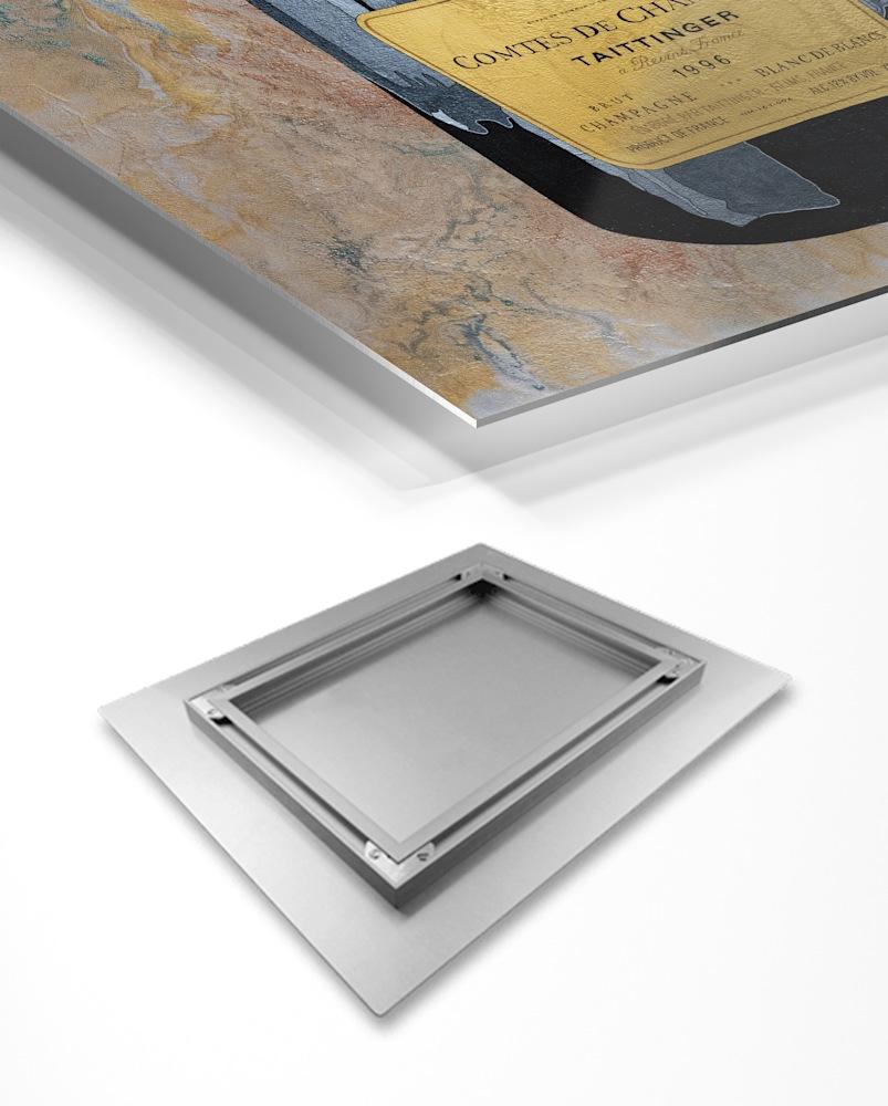 Aluminum Print Taittinger