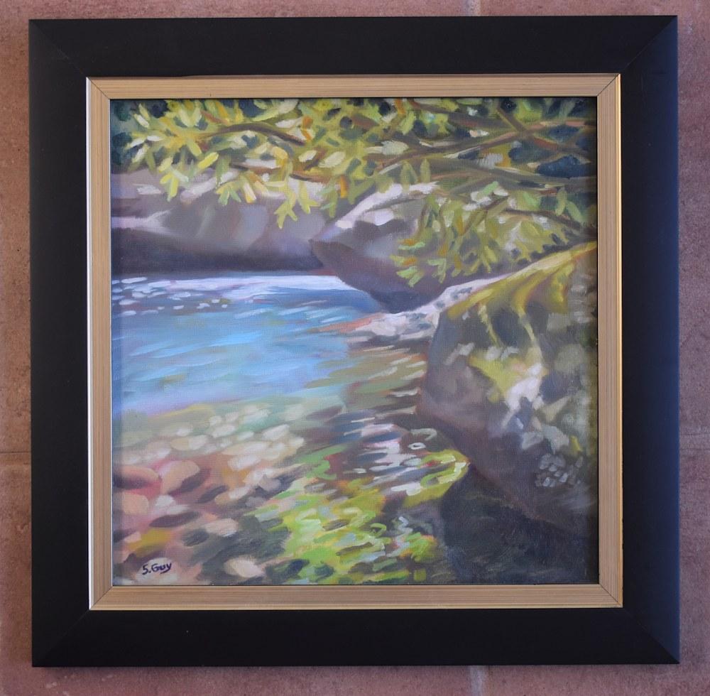 Healing Waters framed