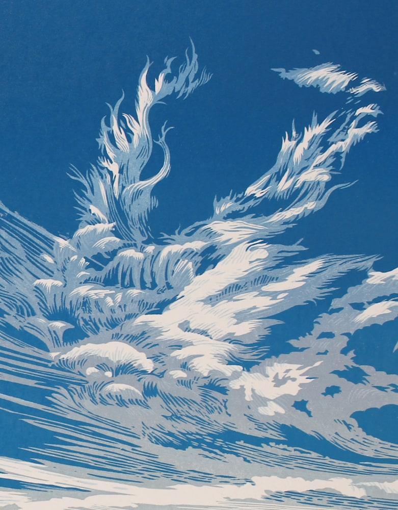 Cirrus Sky Detail 2