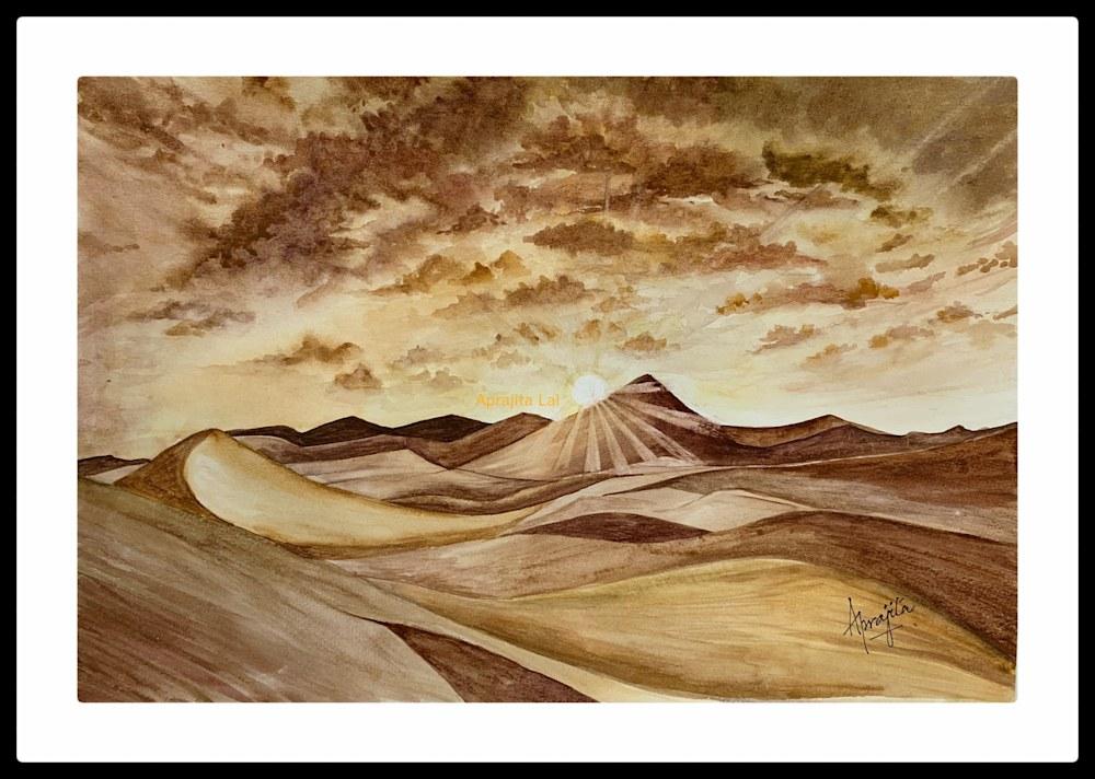 SandDunes Framed WM