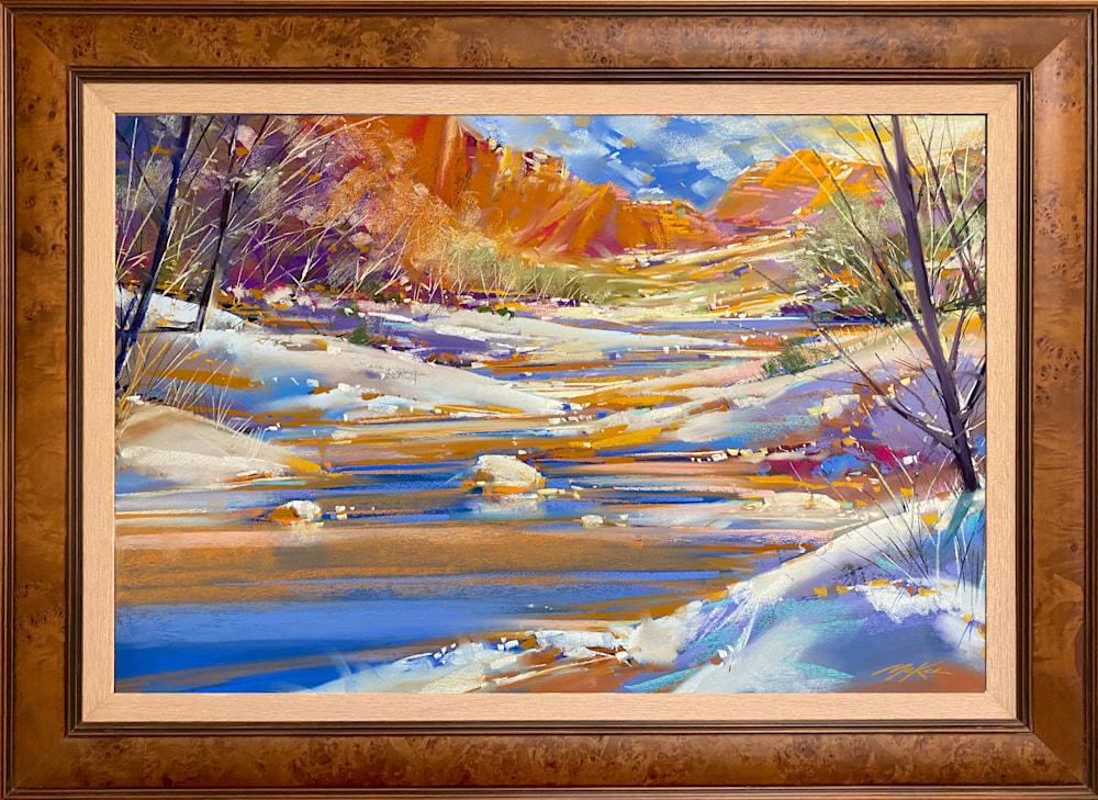Winter Creek framed