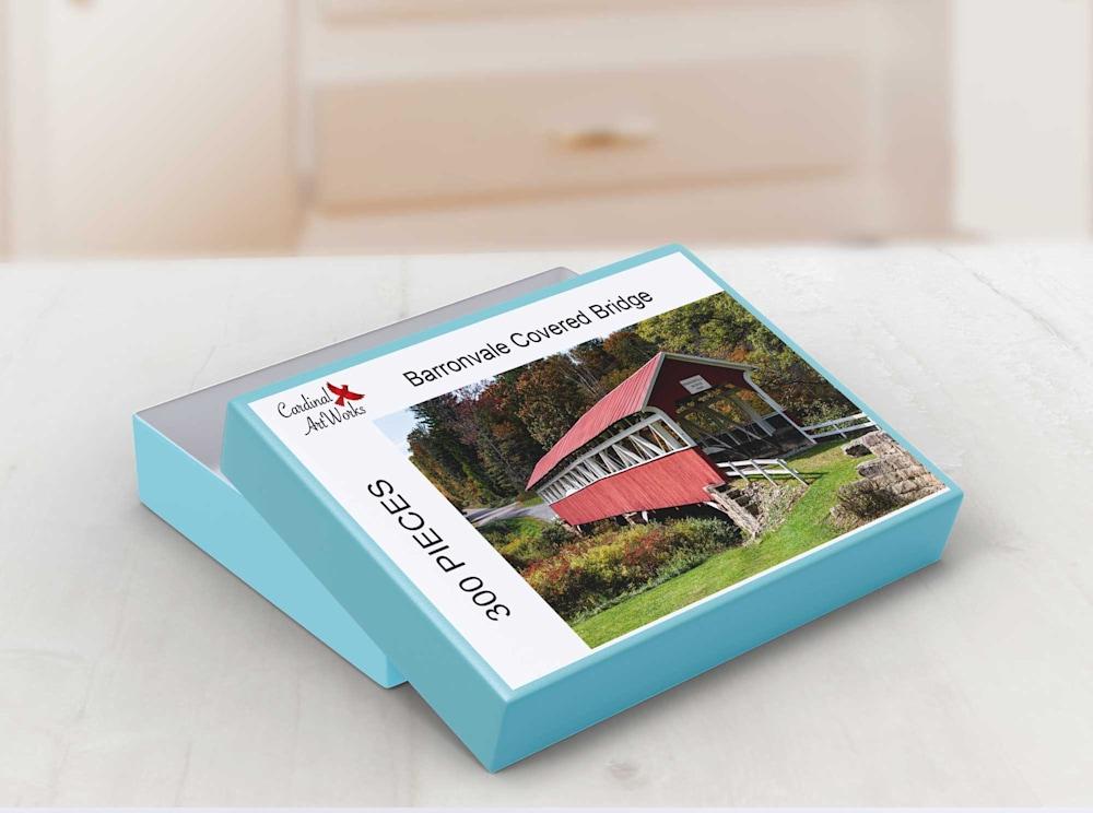 Barronvale Covered Bridge Box