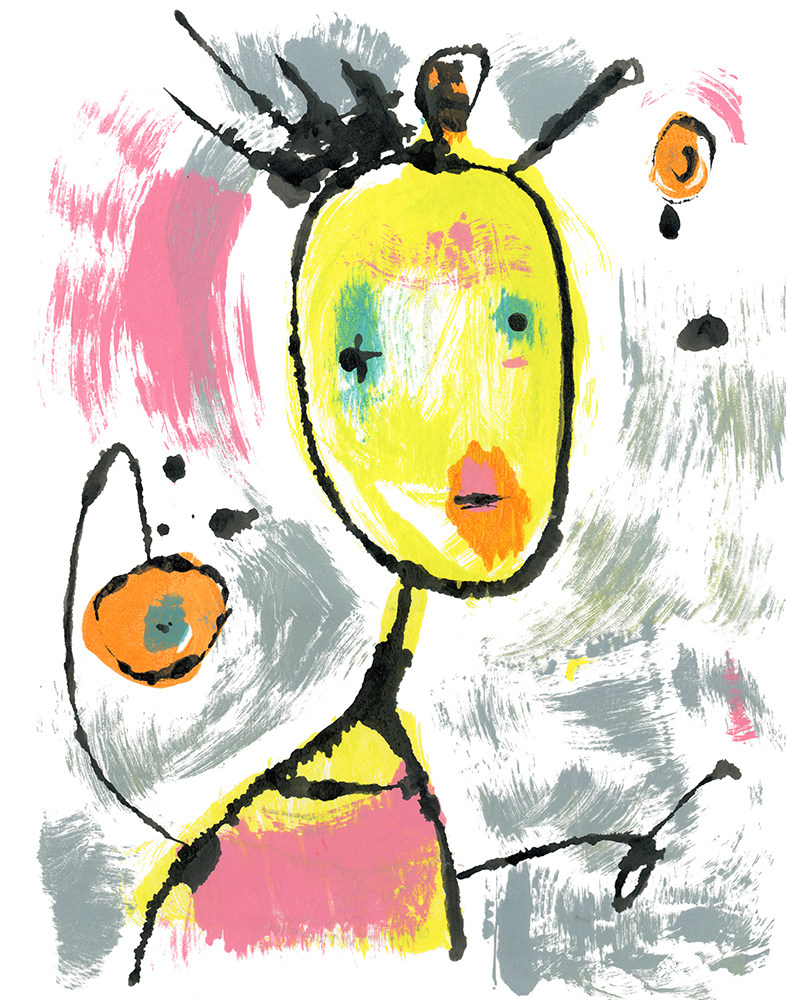 ClosetClown BlotArt Original