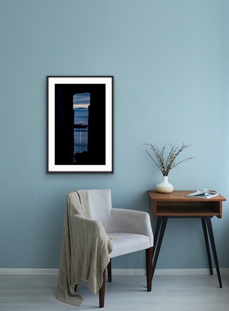 Pier Framed Lighthouse 2