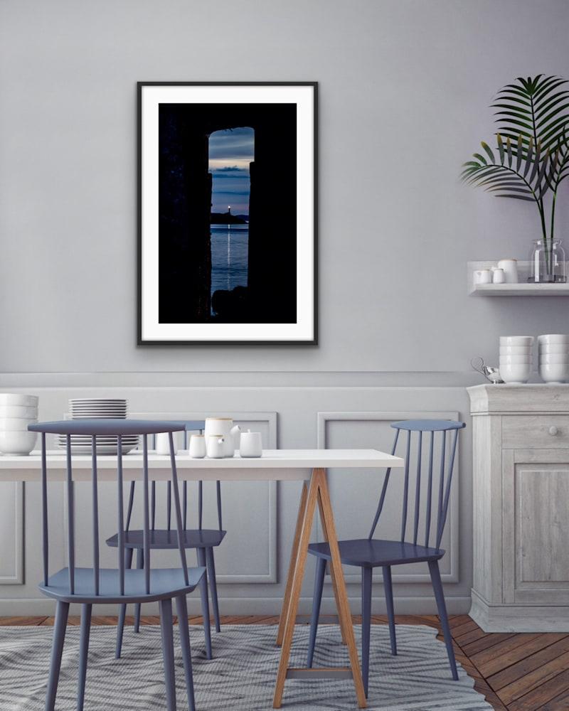 Pier Framed Lighthouse 3