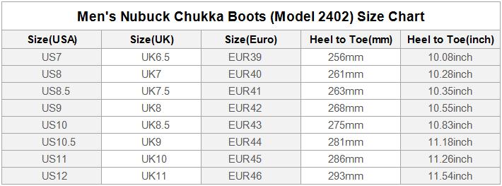 Nubuck Chukka M