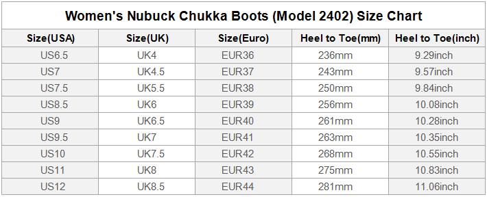 Nubuck Chukka W
