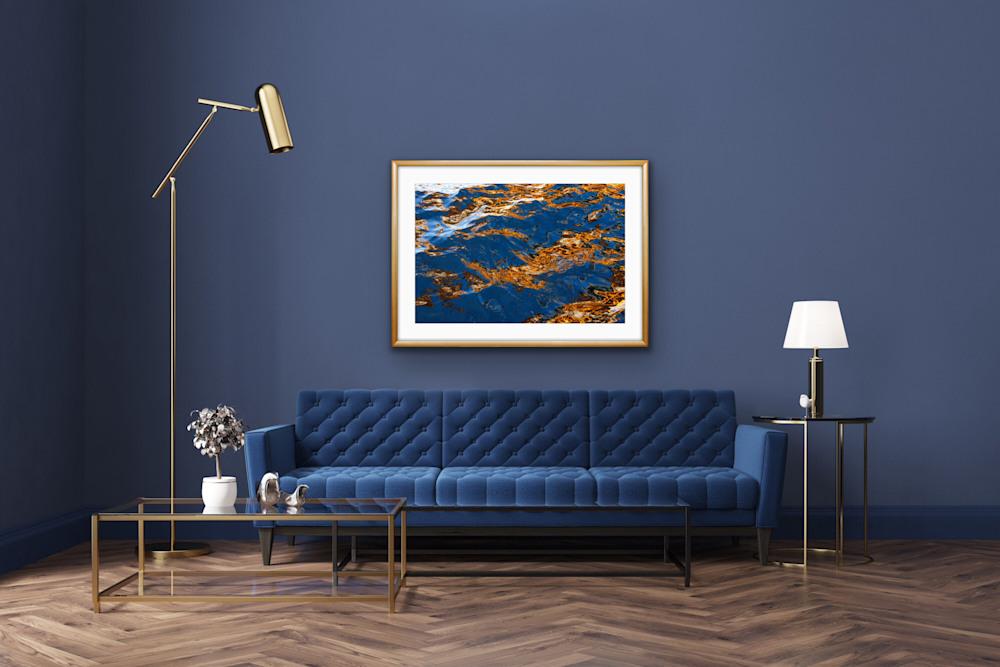 Flashing Waves of Blue 3