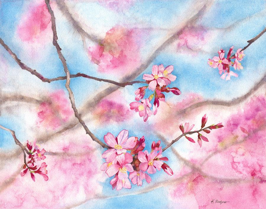 CherryBlossom PRINT e