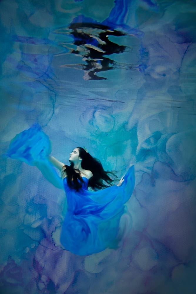 Suzanne Barton Princessa Bleu 24x36  GalleryCanvas �1600