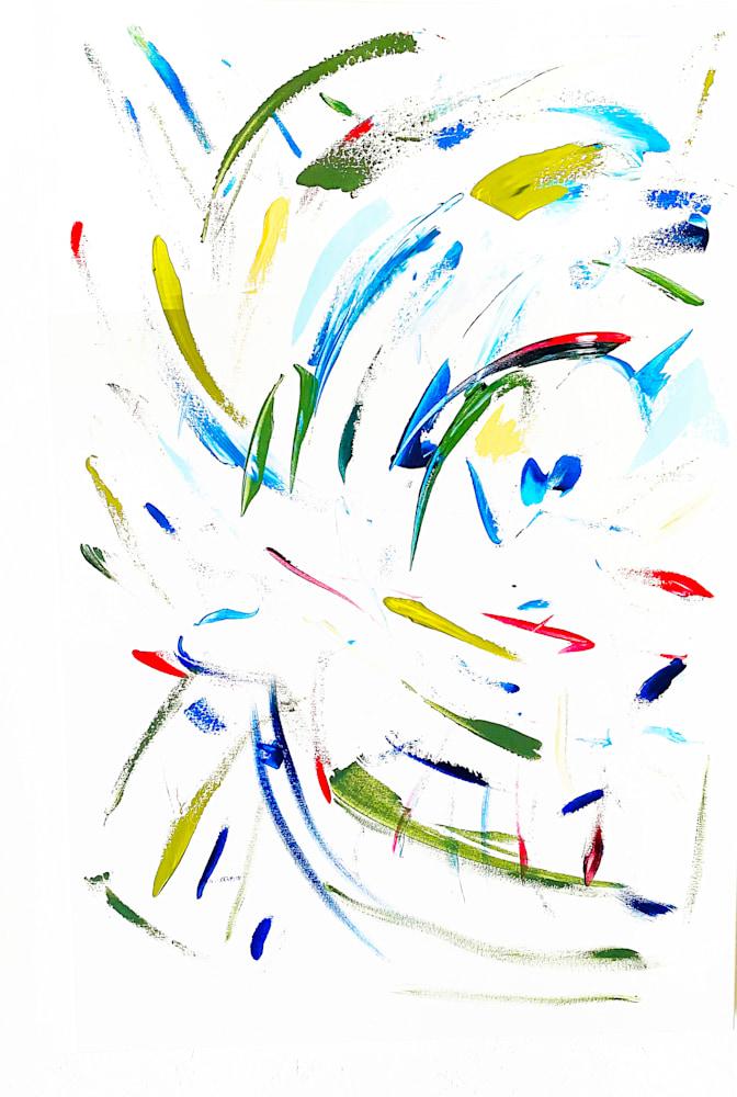 Energy Barbara Ziev 36 x 42 Abstract Acrylic on canvas $2500