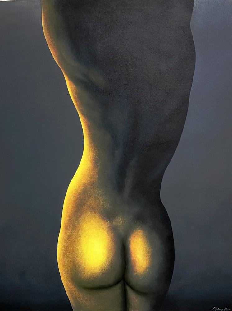 Leszek Wyczolkowski Le Femme Oil on canvas 48 x 60 $9500