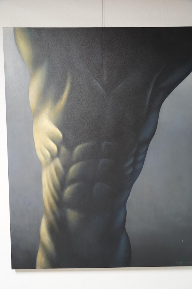 Leszchek Wyczolkowski Oil 48 x 60 L Homme