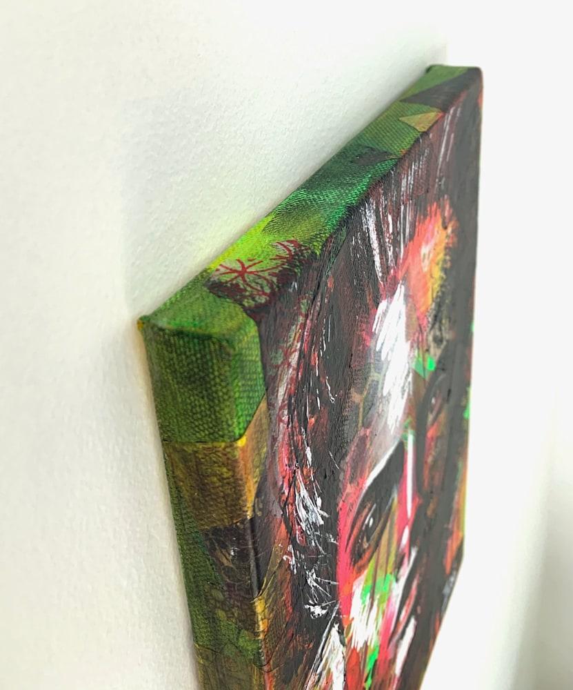 8x10 zabe arts face contemporary art corner