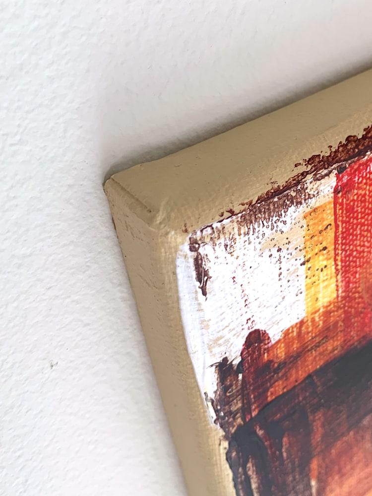 16x20 zabe arts figurative painting corner