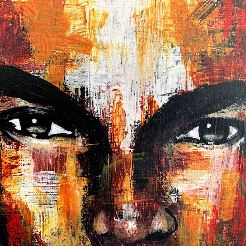 16x20 zabe arts figurative painting close up1