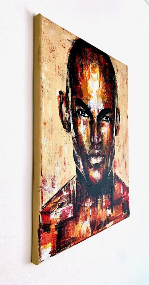 16x20 zabe arts figurative painting trancheG