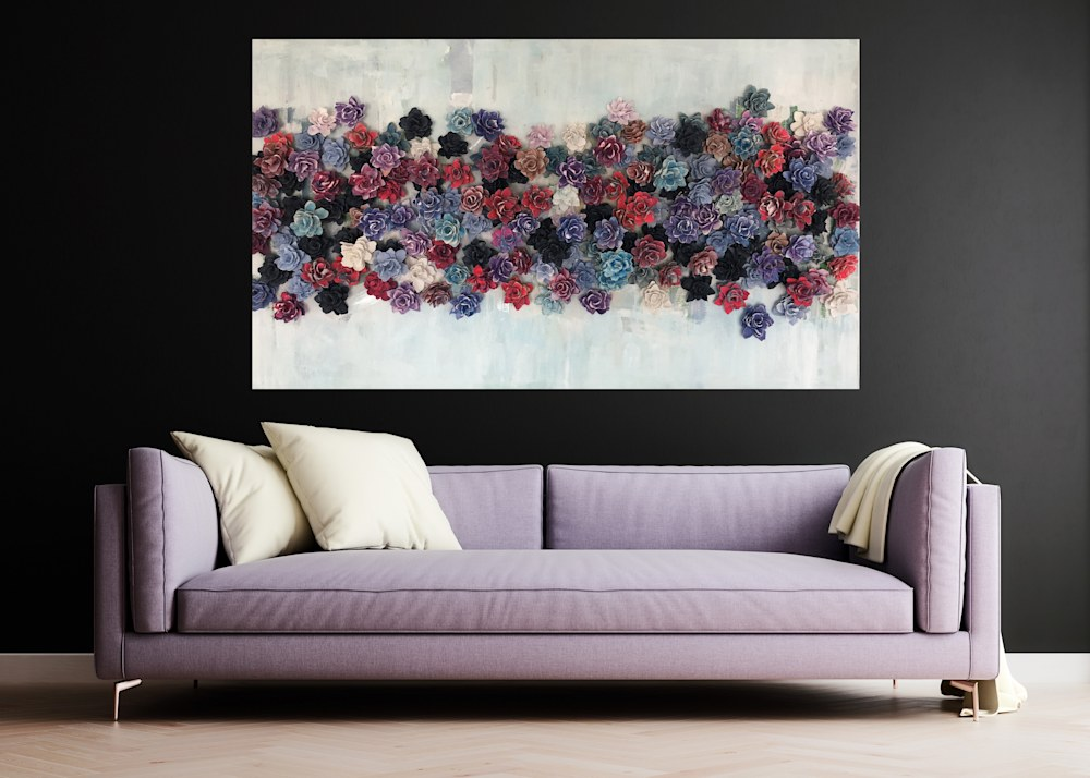 livingroom dark wall with mixed bed abstract copy