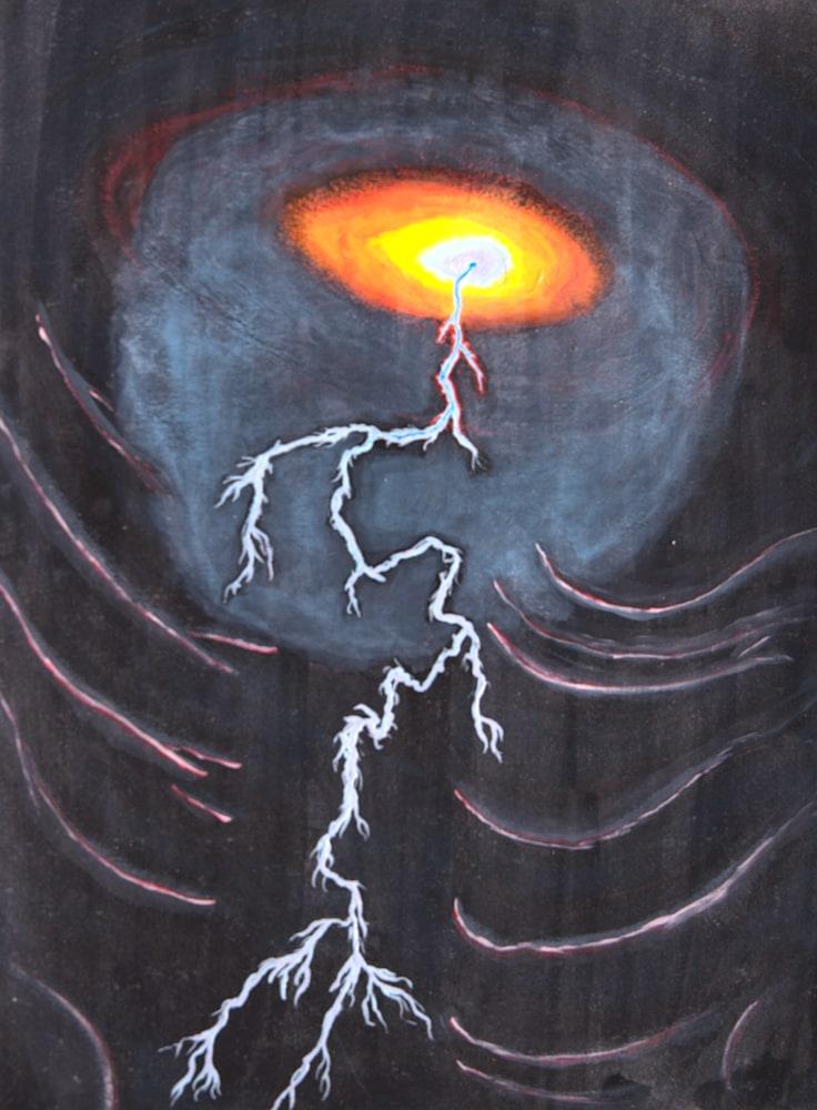 Blue Crazed Lightning (1)