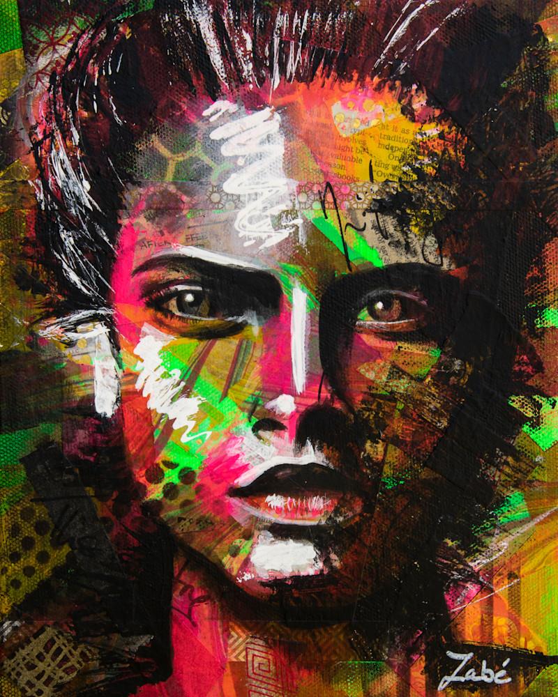 8x10 zabe arts face contemporary art 2