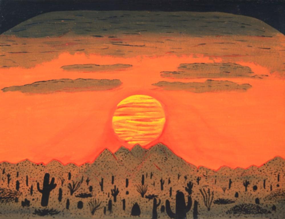 Four Peaks Sunset (1)