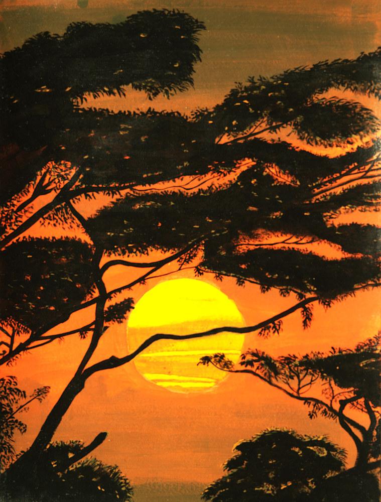 Sunset in Malaysia (1)