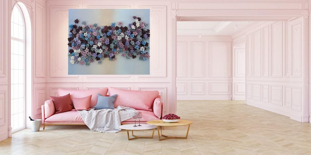 livingroom mixed bed ombre