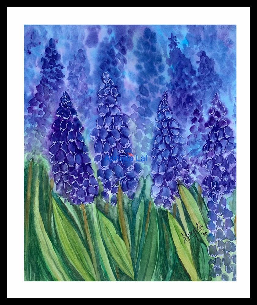 Purple Blooms WM