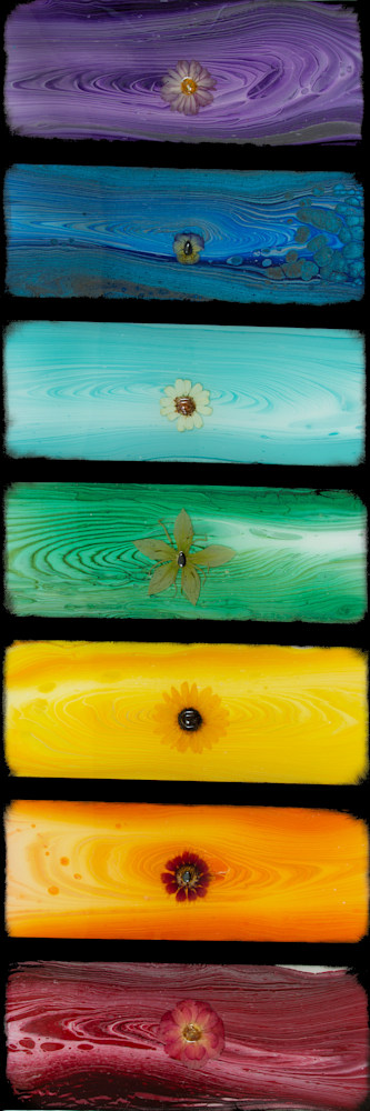 AM21P 013 Flowered Chakra Solar Plexus Sunflower