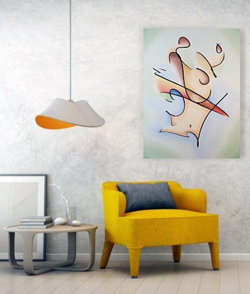 saddle on wall