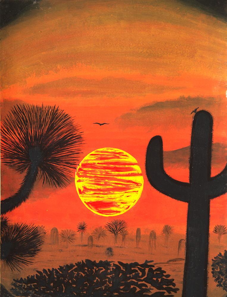 Desert Sunset (1)