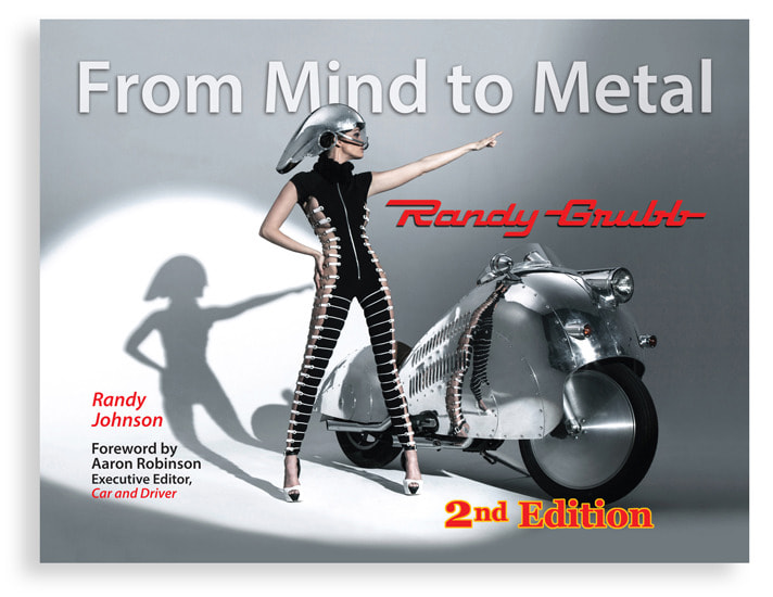 From Mind to Metal front cover   Randy Johnson e