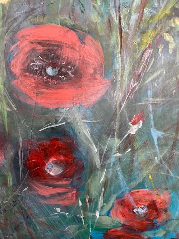roses poppy