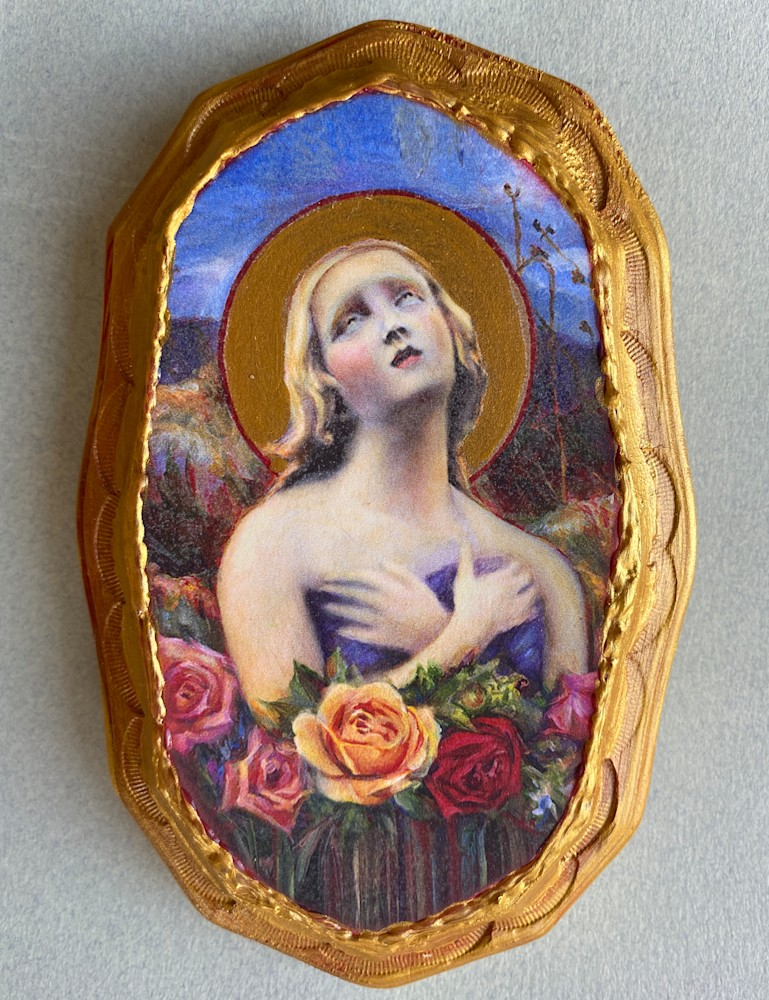 Santa Fe Angel of Hope Wall Art Plaque