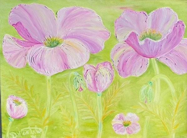 Rebirth of the Poppy in pink 1