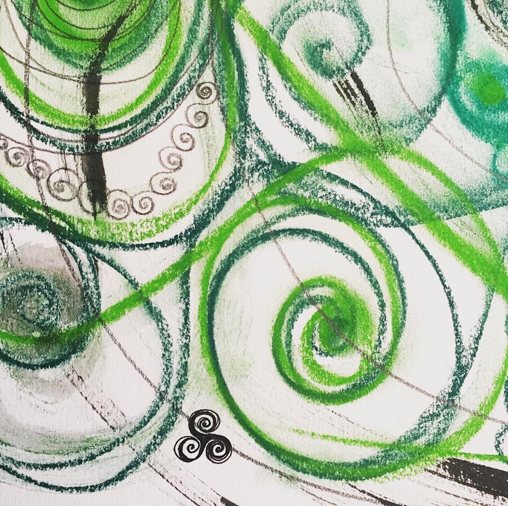 Celtic Spirals detail