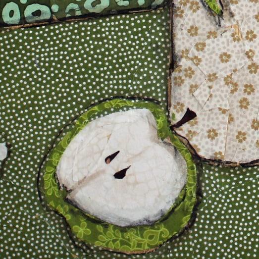 Hydrangea and Green Apples Crop 1