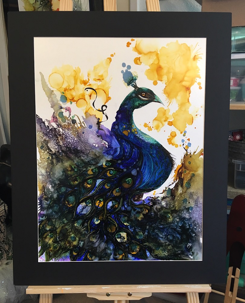 Peacock2 matted