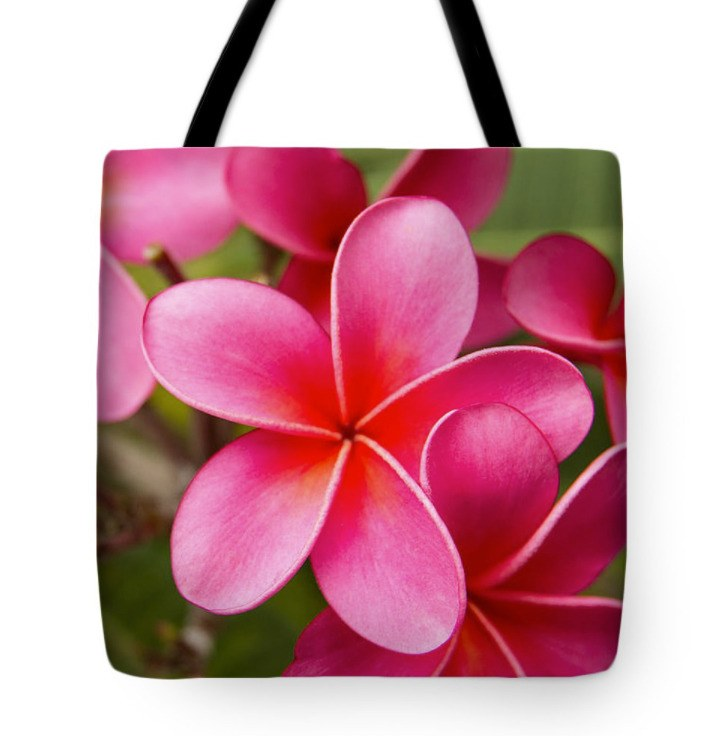 Pretty Hot Pink Tote Bag